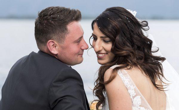 Matrimonio sul lago di Como, a Domaso. Ricevimento alle 5 Case di Gera Lario. Beautiful wedding on Como Lake.