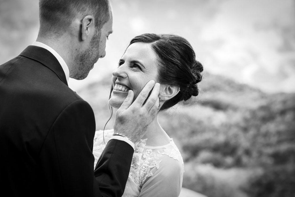 Matrimonio in montagna sulle Alpi a Tartano. Ricevimento presso l'Hotel Trieste di Morbegno.