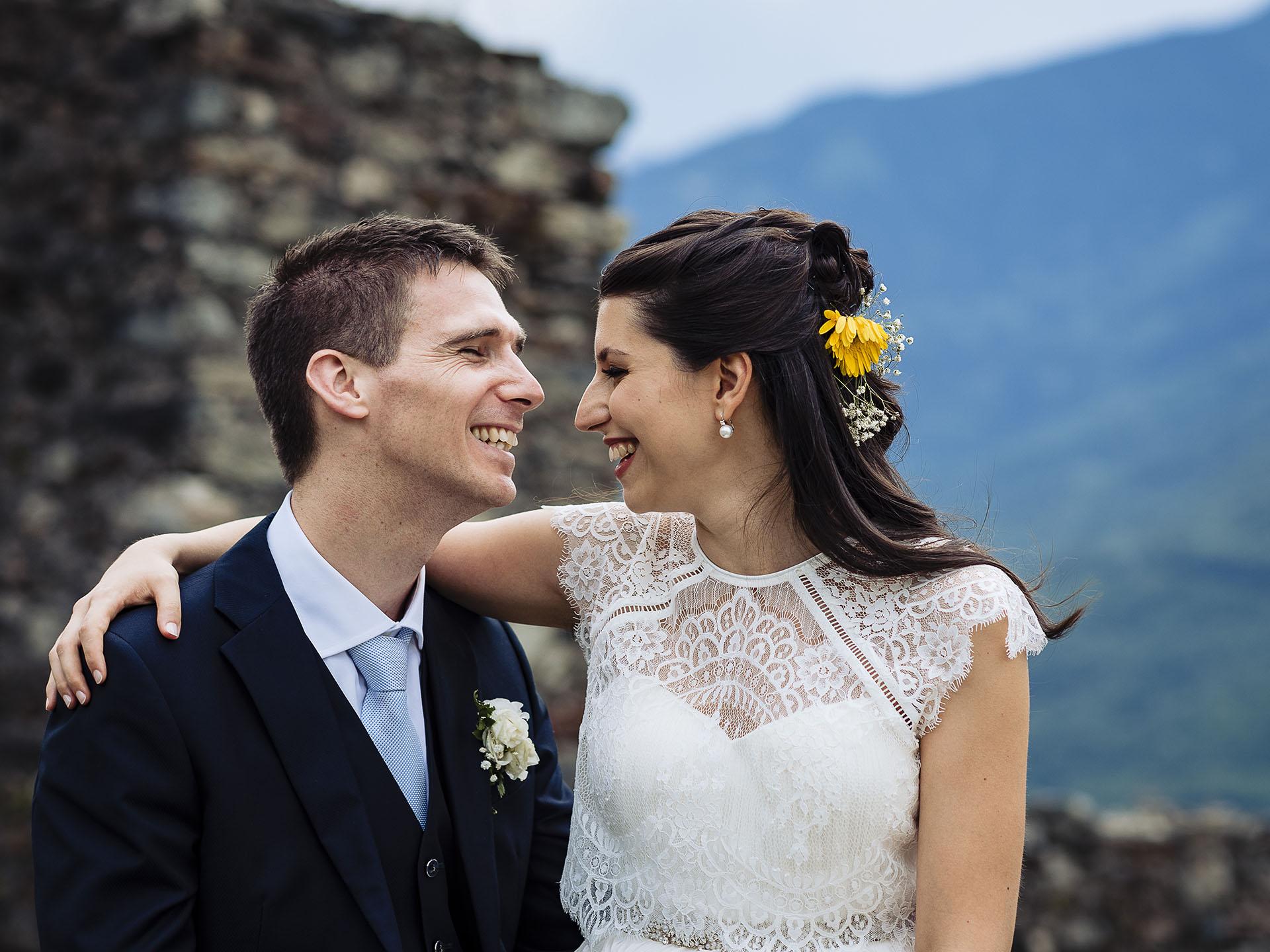 Matrimoni - Galleria di matrimoni - Wedding - Matrimonio al Castel Grumello - Sondrio