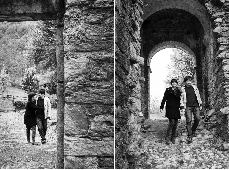Pre-wedding all'Abbazia di Vallate