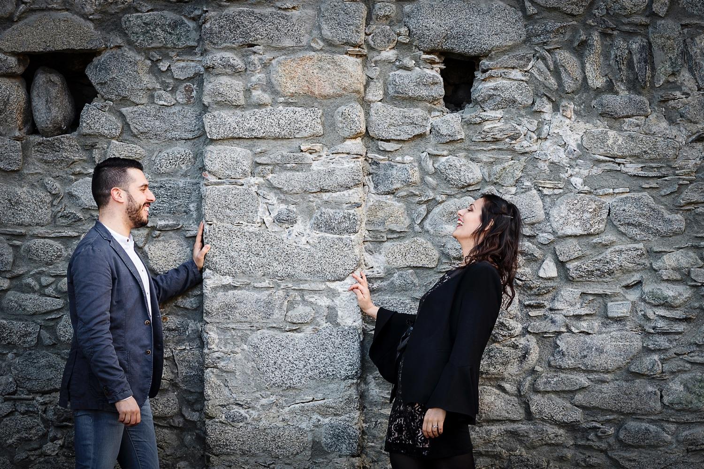 Servizio prematrimoniale al Castello di Domofole